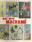 Craft Book: PD1045 Judy's Way With Macrame - Over 40 Patterns