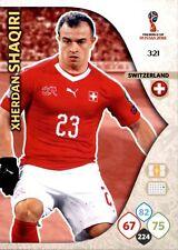 CARD PANINI ADRENALYN WORLD CUP RUSSIA 2018 N.321 SHAQIRI SWITZERLAND