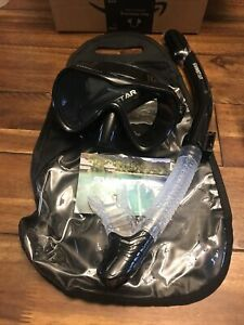 Swimstar Mask and Snorkle with Bag Sz Adult