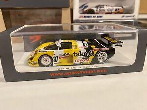 1/43 SPARK Toyota 88C #37 Le Mans 1988