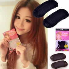2Pcs Hair Volume Increase Sponge Invisible Pad Bump Foam Puff Insert Base Clip