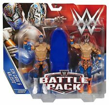 WWE SIN CARA AND KALISTO FIGURES LUCHA DRAGONS BATTLE PACK SERIES 42 2 PACK