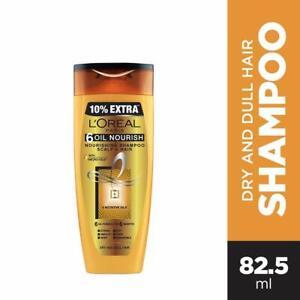 L'Oreal Paris 6 Oil Nourish Shampoo, 75ml (With 10% Extra)
