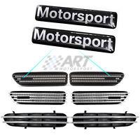Pegatinas adhesivos Motorsport rejillas de ventilación compatible con Bmw M3 M5