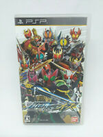 Sony Psp PLAYSTATION Portable Kamen Rider Climax Helden OZ Bandai Japan Version