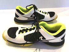 Nike Zoom CourtLite 3 Tennis Shoe Sneaker 2012 Ortholite Yellow Black White 10