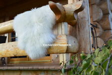 Icelandic Curly Wool White Genuine Sheepskin Lambskin Sheep Skin Rug Pelt