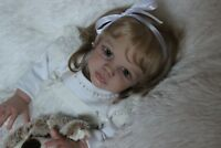 Hyper-realistic baby  MAXI,  limited set from the Sigrid Bock,art Lidia Lebedeva