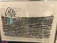 Si Lewen Print Mid Century - The Field - 8/50