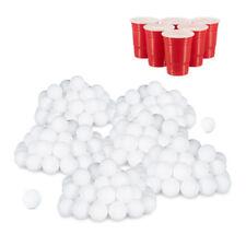 288er Set Beer Pong Palline, Palline da Ping Pong, Ping Pong Palline bianco, LOTTO SFERE