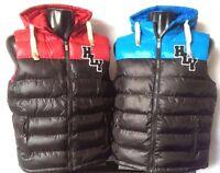 Men's 'HLY' Zip Up Hooded Body Warmer/Gilet Zip Pockets Sale was £20 now £15
