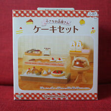Sylvanian Families CAKE SET Epoch MI-57 Japan New Vintage item Calico Critters