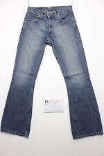 Levi's 516 flare Bootcut boyfriend Jeans gebraucht (Cod.D1169) Größe 44 W30 L34