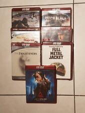 lot of 7 HD DVD the frighteners , black rain, full metal jacket, pitch black new