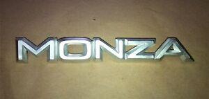 "BADGE EMBLEM ""MONZA"" Tailgate panel Opel Monza 3.0E"