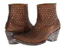 New in Box Womens Old Gringo Viruela Brass Studded Boots Size 7 MSRP $ 495