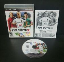 FIFA Soccer 12 (Sony PlayStation 3, 2011) PS3 Complete