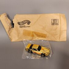 "Hot Wheels 1982 Mail-In Gold Chrome Camaro Z-28 GHO Error Base ""CAMRO"" Rare Mint"