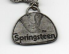 BRUCE SPRINGSTEEN - RARE 1978 NECKLACE PENDANT - PROTOTYPE SOUVENIR from MANAGER