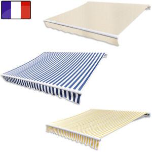 Store Banne Auvent Pliable avec/sans Cadre 3 tailles résistant aux UV et l'eau
