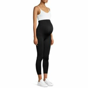 Loving Moments By Leading Lady Black Maternity Leggings Size XL, NEW