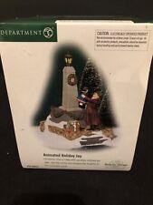 Department 56 Accessory Animated Holiday Joy Dickens Village 58552 Nib