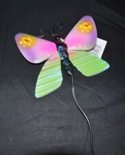 """New listing Yard Garden Stake Butterfly Metal Art Outdoor 20"""" #36"""