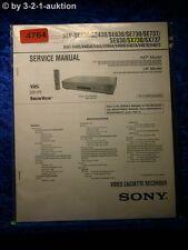 Sony Service Manual SLV SE230 SX737 SE430 SE630 SE730 SE737 SE830 SX730 (#4764)