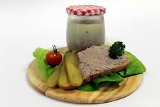 100% Mangalica Wollschwein Thüringer Wurst / Leberwurst im Glas 300 g