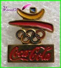 Pin's pins Badge Coca Cola Jeux Olympique Embléme logo #H3
