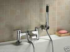 LIBRA WATERFALL BATHROOM TAP BATH SHOWER MIXER CHROME MODERN DESIGN SOLID BRASS