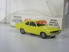 TOP: Wiking Sondermodell Opel Manta A gelb zur IMB 2002 in OVP