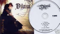 DILANA Darklight 2008 UK 5-trk DJ advance promo CD Rock Star