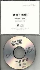 BONEY JAMES Boneyizm 1999 ULTRA RARE PROMO Radio DJ CD single MINT