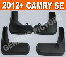 FIT FOR 2012 2013 2014 TOYOTA CAMRY SE SPORT MUD FLAP FLAPS SPLASH GUARD AURION