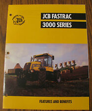 * JCB 3000 Series Fastrac Tractor Spec Sheet Brochure Literature
