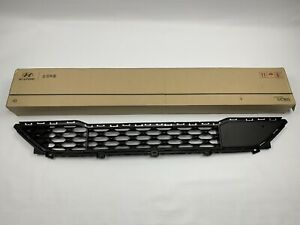 2019-2020 Tucson Front Bumper Grille Lower Grill Genuine Hyundai With Pedestrian