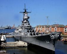New 8x10 Photo: United States Navy USS WISCONSIN (BB-64) Iowa-class Battleship
