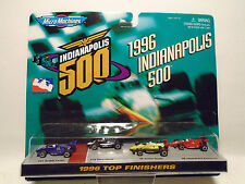 GALOOB MICRO MACHINES #74975 1996 INDIANAPOLIS 500 TOP FINISHERS 4 CAR SE