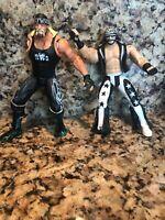 1999 WCW NWO Marvel Macho Man Randy Savage And Hulk Hogan Hollywood BROKEN lot 2