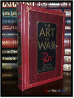 The Art of War New Sealed Leather Bound Gift Hardback Sun Tzu Tao Te Ching +++