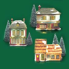 Dept. 56 Dickens 6500-5 Christmas Carol Cottages FREE Ship NEW