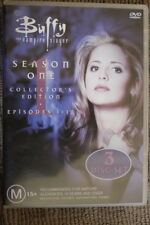 BUFFY THE VAMPIRE SLAYER RARE OOP DELETED DVD SEASON ONE 1 3-DISC BOX SET