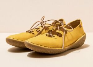 El Naturalista Borago 5728 size EU41 (UK7) women's lace up yellow leather casual