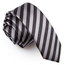 Cravatta da uomo grigie in poliestere