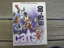 Vintage Kansas State Wildcat Basketball Year Book 1979-80 Hartman Blackman Nealy