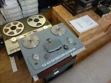 BBC Studer B62 REEL TO REEL tape recorder half track stereo