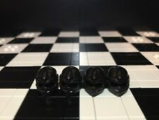 Lego Ninja Minifigure Black Wrap Headgear X4 for Ninjago / Ninja