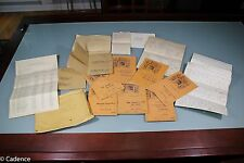 US WW2 USMC Marine Corps Aviation Paperwork Grouping. Service & Night Fighter