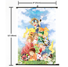 Anime Digimon.Adventure Wall Scroll Poster cosplay Gift 2278